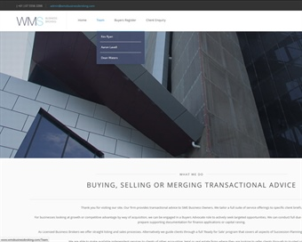 WMS Solutions - Business Broking